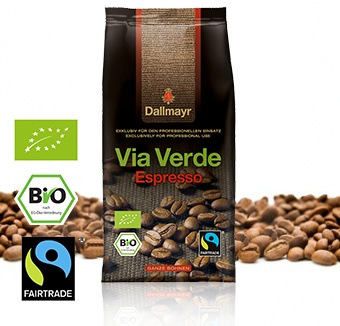 via verde espresso