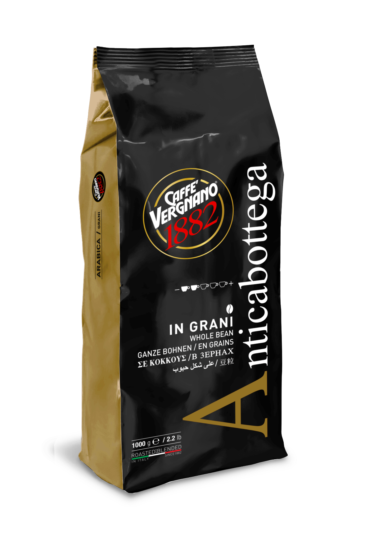 Кафе Vergnano Антика Ботега 1 кг. на зърна