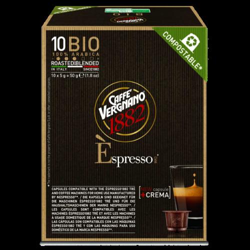 Vergnano Espresso 1882 Bio Капсули