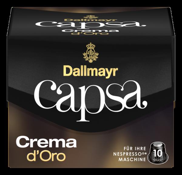 Dallmayr capsa Crema dOro Farbstehkapsel