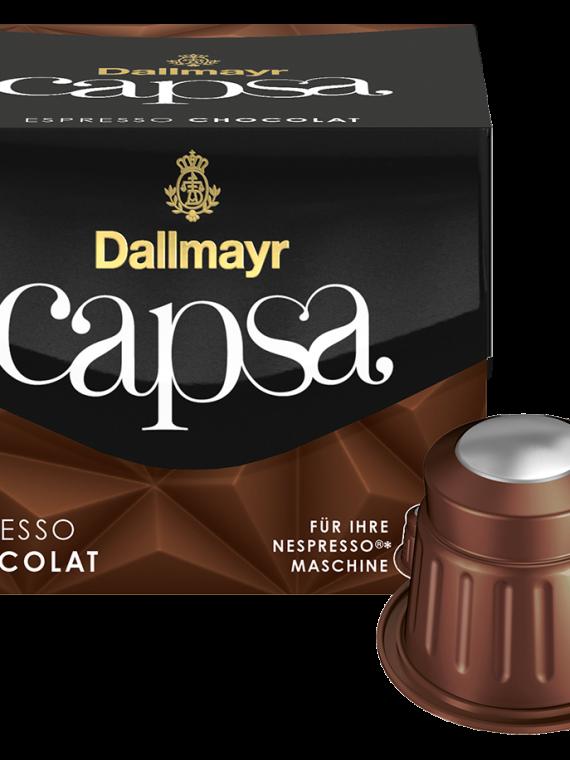 Dallmayr capsa Espresso Chocolat FrontTopKapse