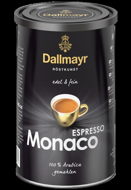 Dallmayr ESPRESSO MONACO 200 гр. мляно метална кутия