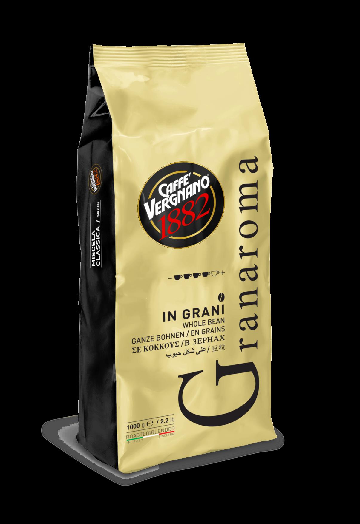 Кафе Vergnano Гран Арома 1 кг. на зърна