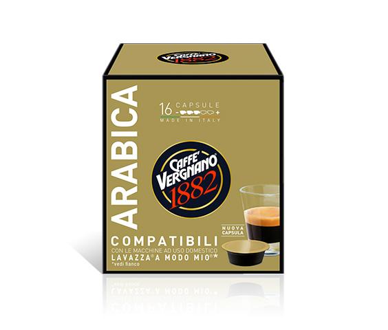 capsule caffe compatibili lavazza amodomio arabica