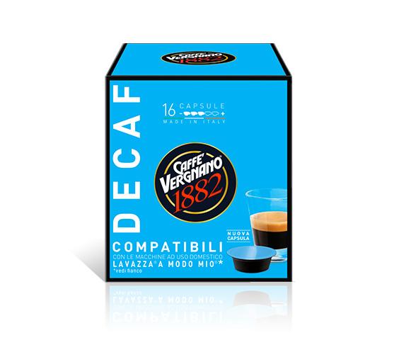 capsule caffe compatibili lavazza amodomio decaffeinato