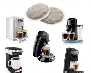Кафе машини за дози и чалди