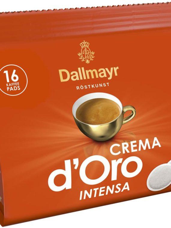 Dallmayr CREMA D'oro Intensa дози
