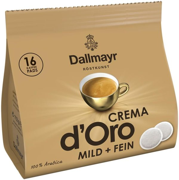 Dallmayr CREMA D'oro дози