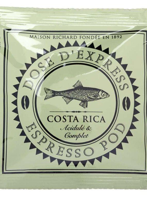 espresso pod Costa Rica