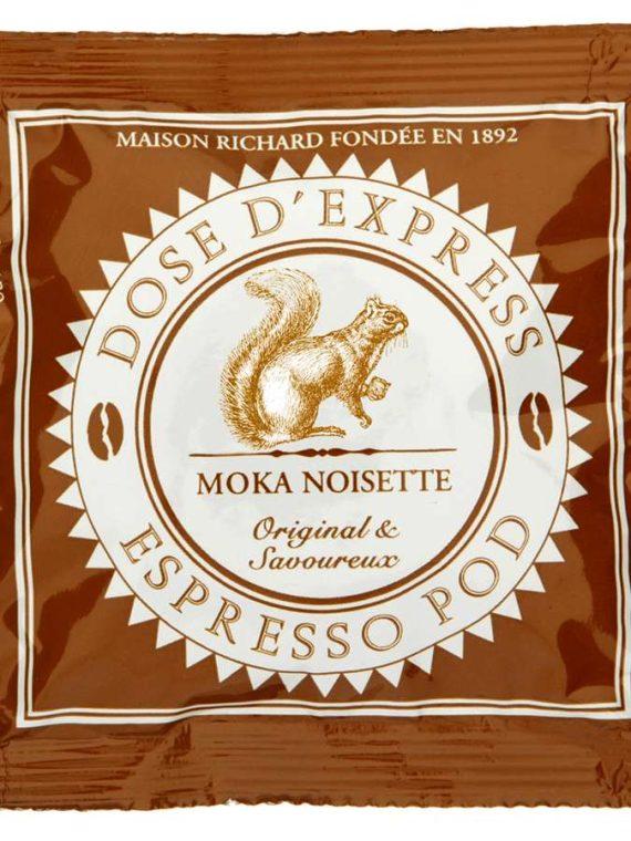 espresso pod moka noisette