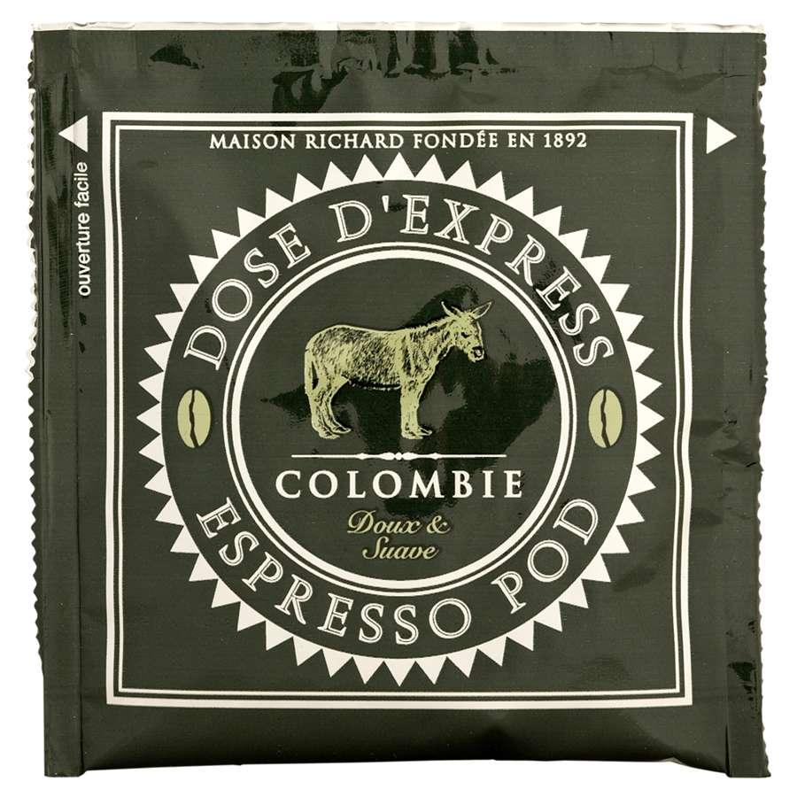 espresso pod Colombie