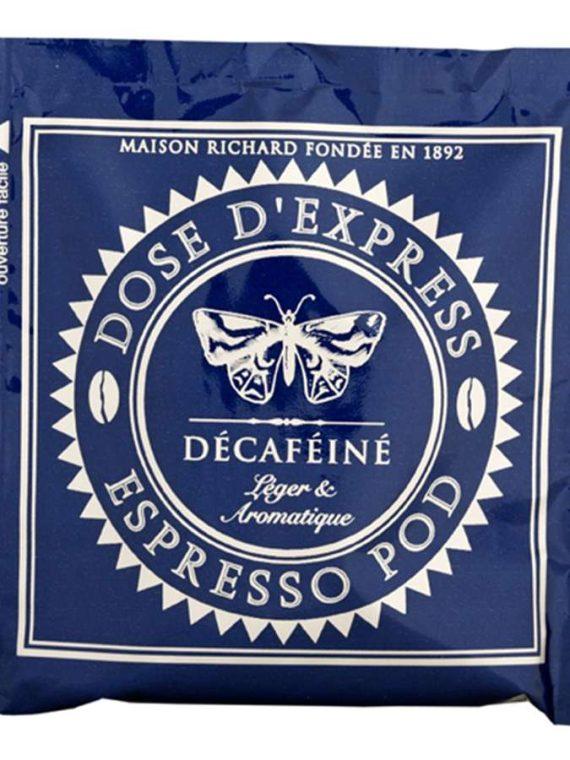 espresso pod decafeine