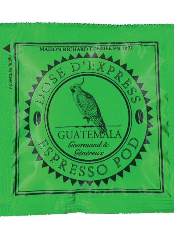 espresso pod Quatemala