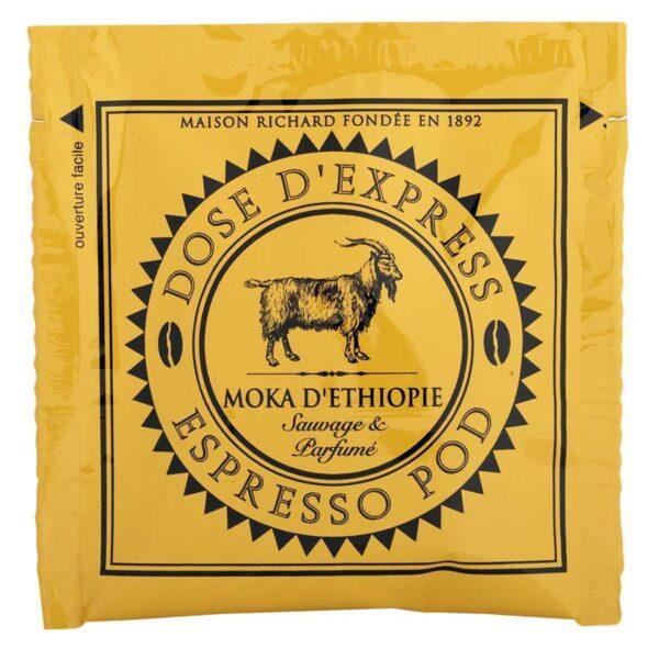 espresso pod moka Ethiopie