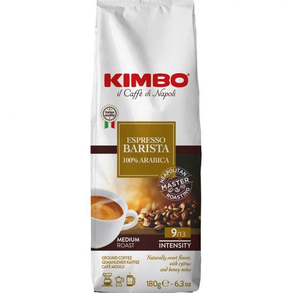 Kimbo Espresso BARISTA 100% Арабика 180 гр. мляно кафе
