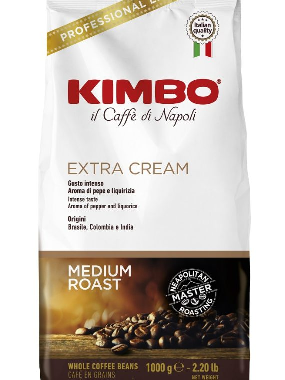 Kimbo Extra Cream кафе на зърна 1 кг.