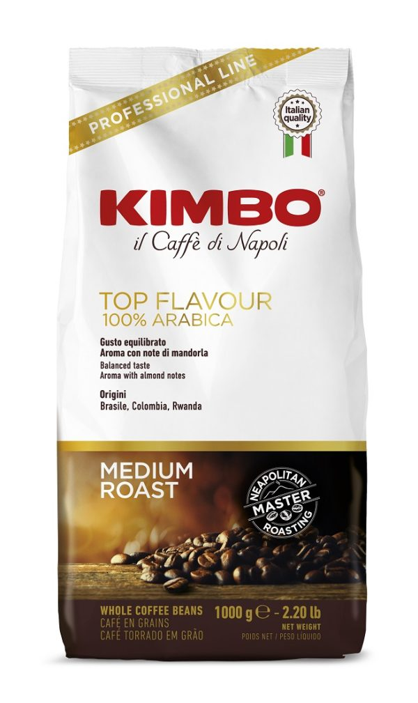 Kimbo Top Flavour кафе на зърна 1 кг.