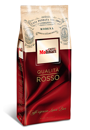 Molinari Rosso кафе на зърна 1 кг