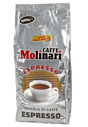Molinari Espresso кафе на зърна 1 кг