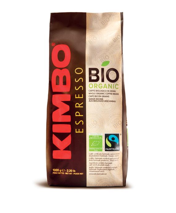 Kimbo Bio Organic кафе на зърна 1 кг