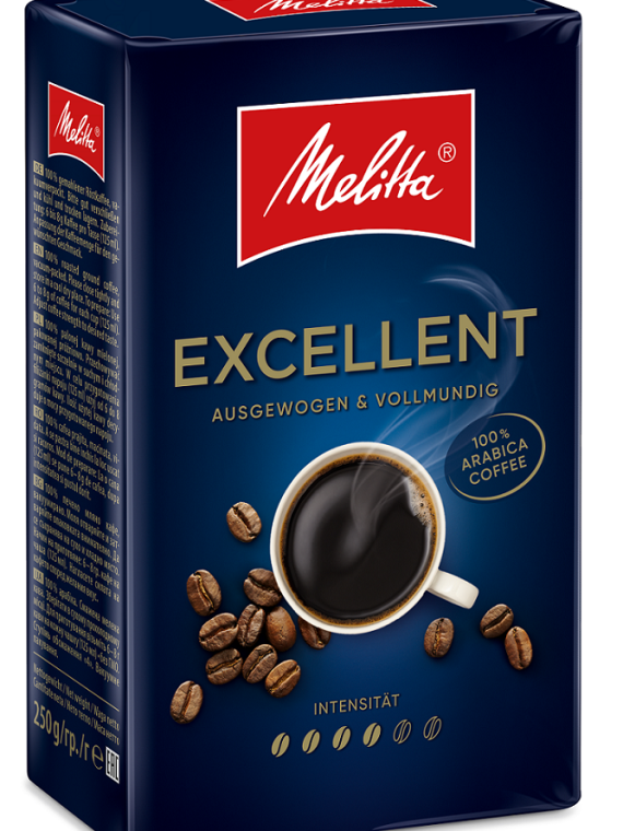 Melitta Екселент 250 гр. мляно кафе