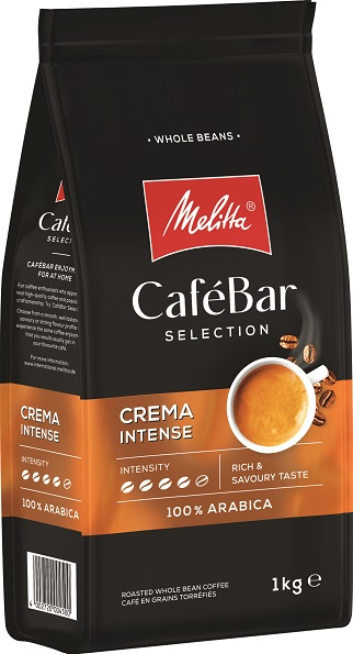 Melitta Café Bar Selection Crema Intense 1 кг. кафе на зърна