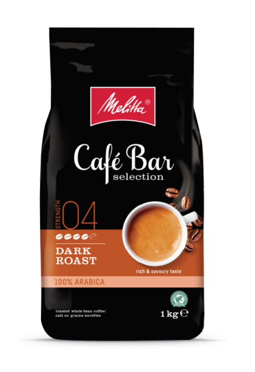 Melitta Café Bar Selection Dark Roast 1 кг кафе на зърна