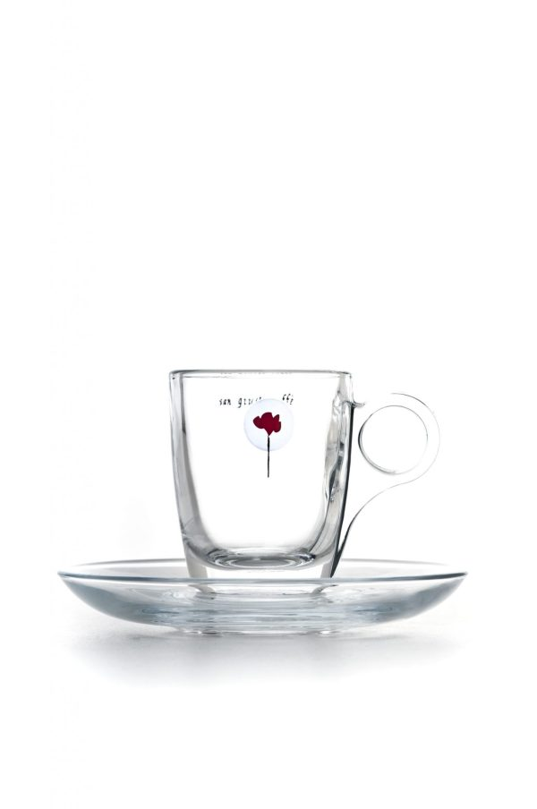 tazzina vetro espresso