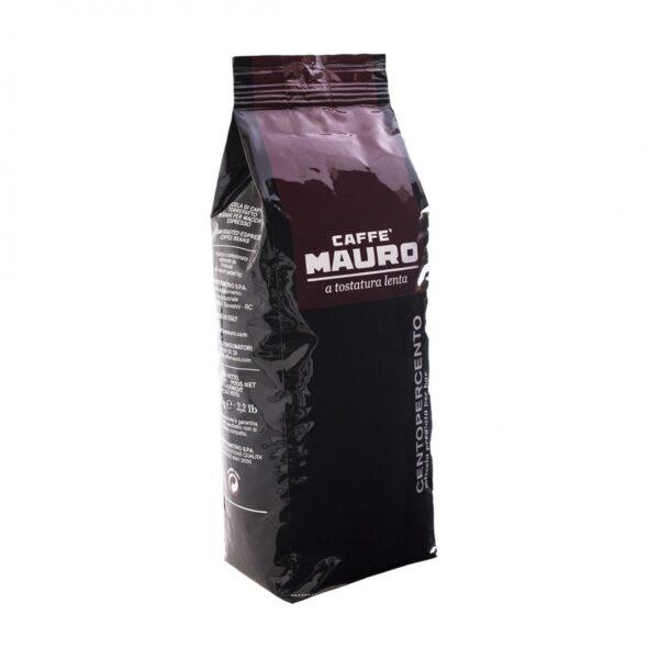 Caffe Mauro CENTOPERCENTO 100% Арабика 1 кг кафе на зърна