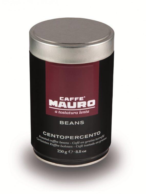 Caffe Mauro CENTOPERCENTO 100% Арабика - кафе на зърна