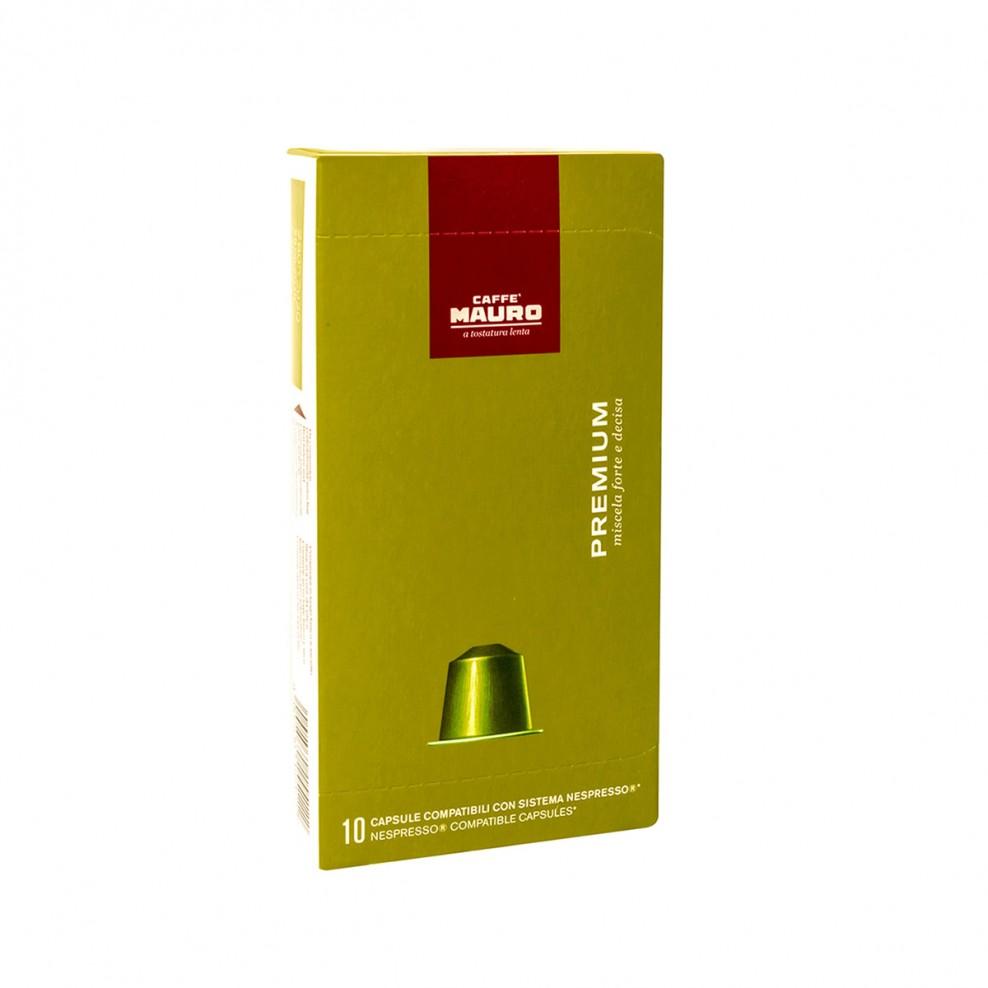Caffe Mauro PREMIUM капсули NESPRESSO system