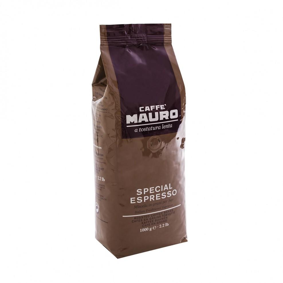 Caffe Mauro special espresso - kафе на зърна с пълен и интензивен аромат