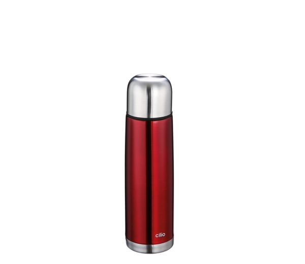 Insulating-bottle-red
