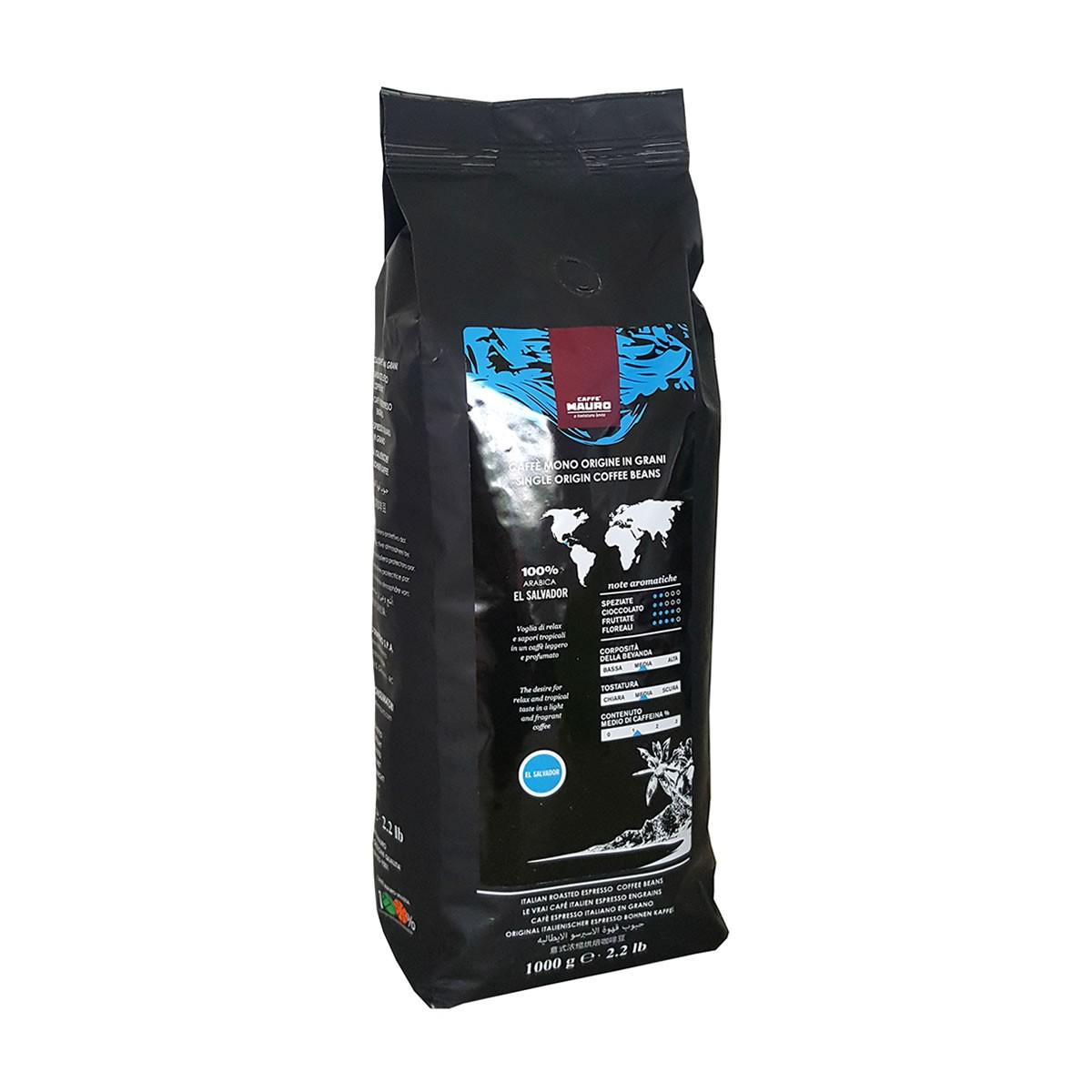 Кафе Mauro Еl Ѕаlvаdоr SINGLE ORIGIN кафе на зърна 1 кг