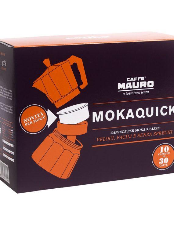 Кафе Mauro MOKAQUICK - 10 дози за Мока кафе