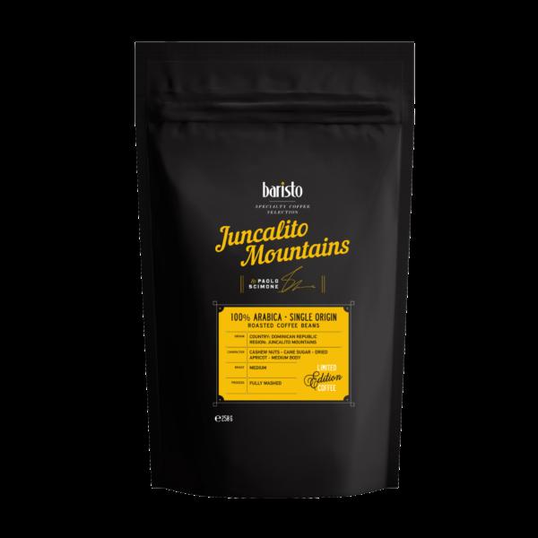 Кафе на зърна Baristo Specialty Coffee Selection – Juncalito Mountains 100% Арабика