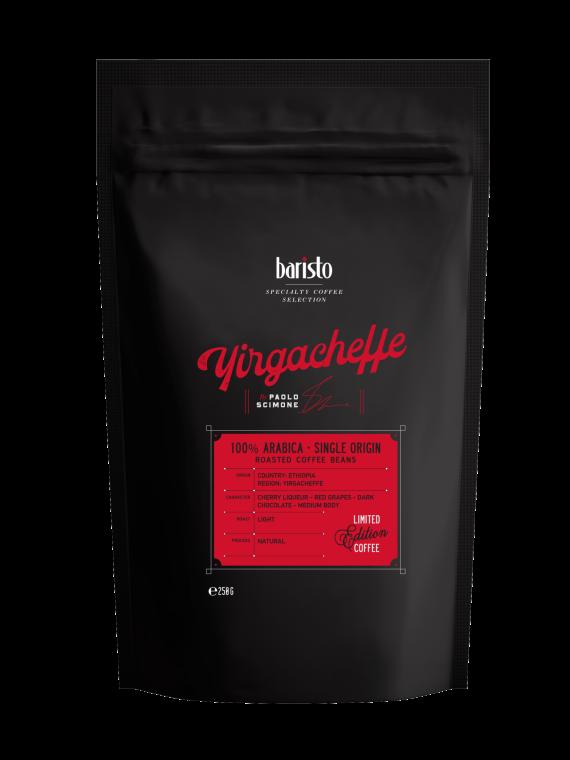 Кафе на зърна Baristo Specialty Coffee Selection Yirgacheffe 100% Арабика