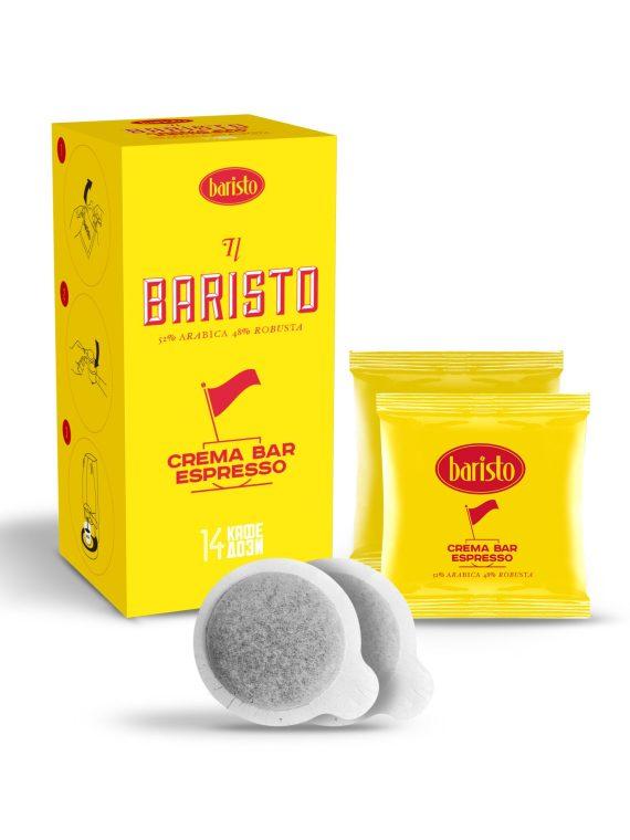 Кафе дози Baristo Crema Bar Espresso