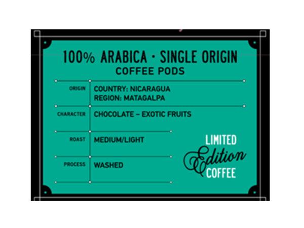Кафе дози Baristo Specialty Coffee Selection Matagalpa