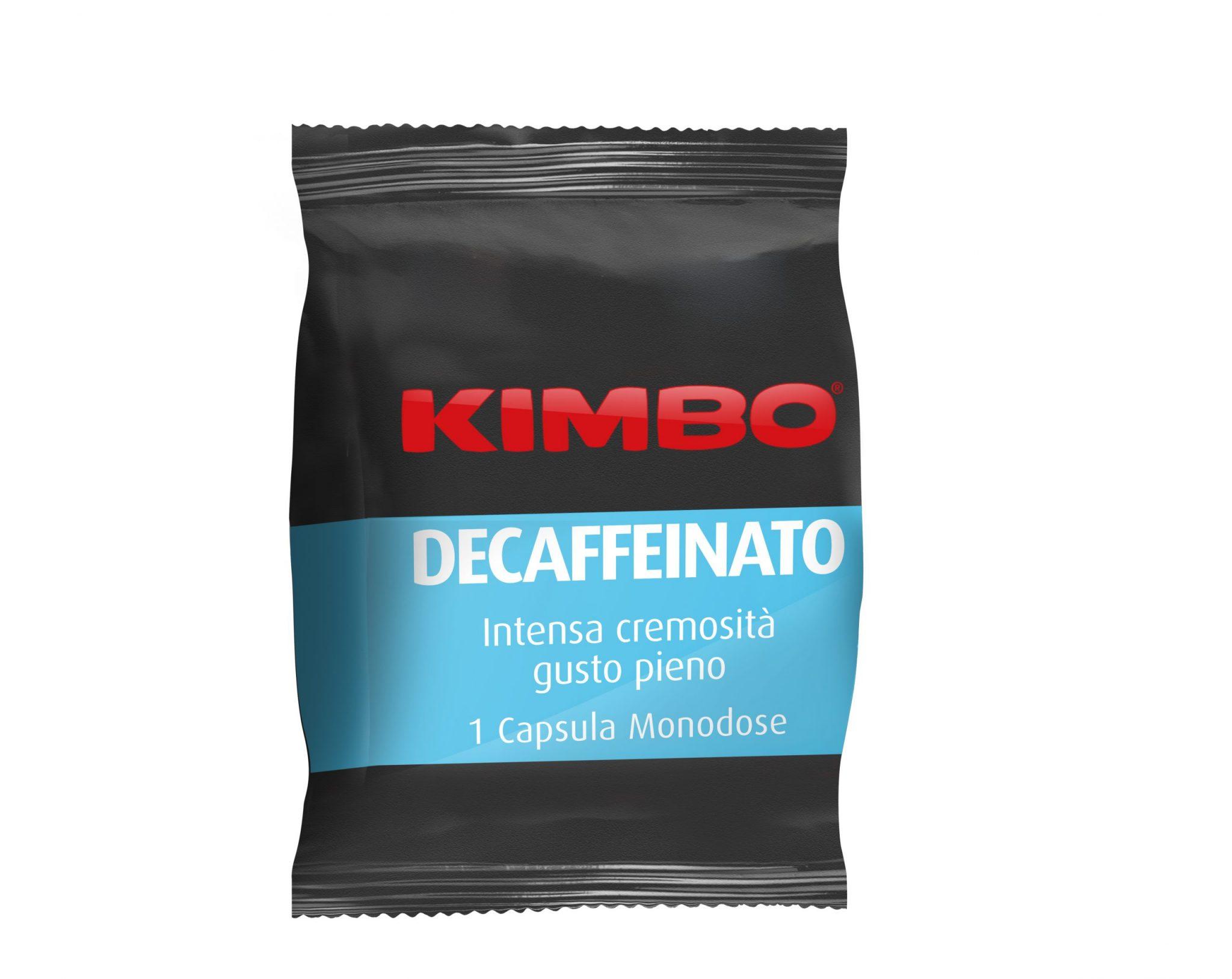 Kimbo Decaffeinato Кафе Капсули