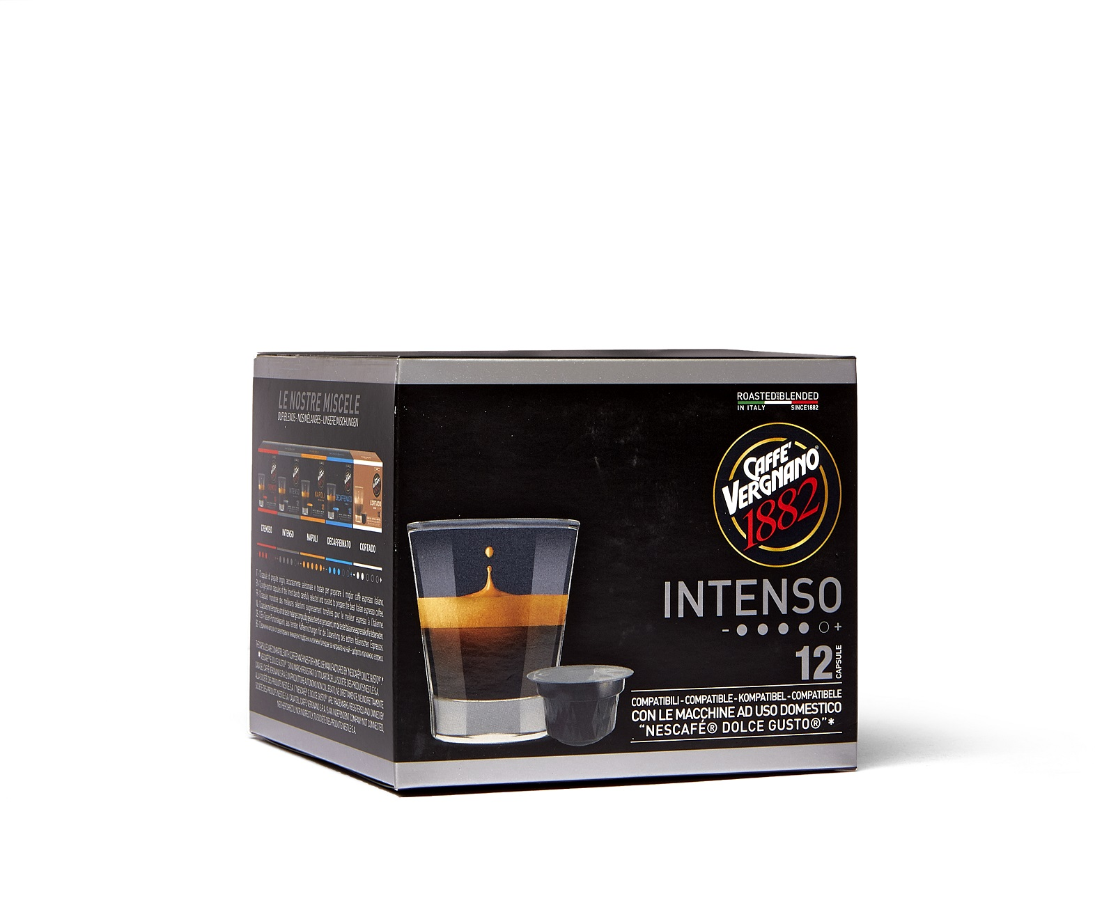"""Vergnano Кафе Капсули """"Dolce Gusto"""" - Intenso 12 бр."""