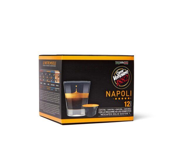 "Vergnano Кафе Капсули ""Dolce Gusto"" - Napoli 12 бр."