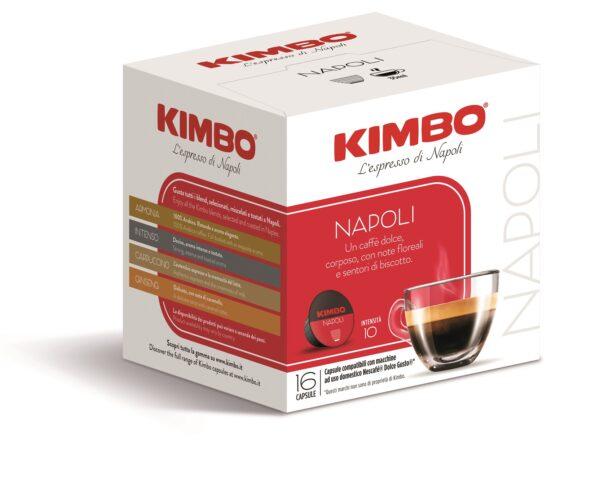 "Kimbo Кафе Капсули ""Dolce Gusto"" - Napoli 16 бр."