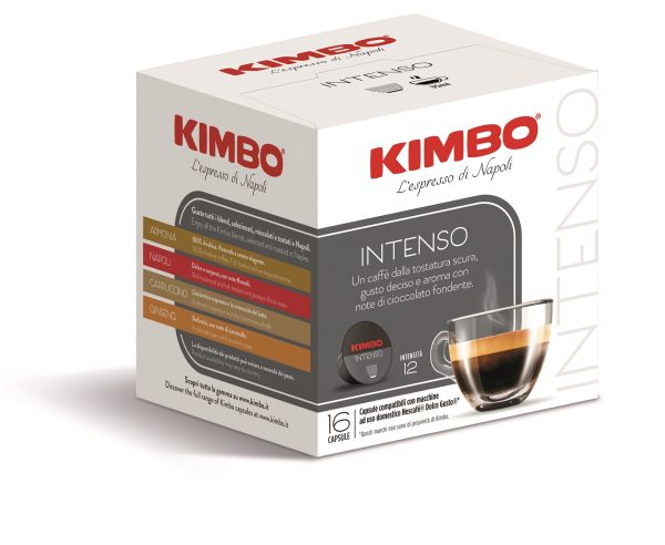 "Kimbo Кафе Капсули ""Dolce Gusto"" - Intenso 16 бр."