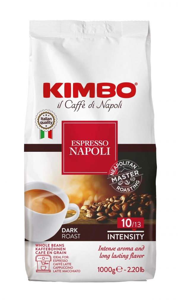 Kimbo Espresso Napoletano 1 кг. кафе на зърна