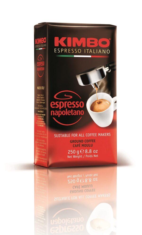 Кафе Kimbo Espresso Napoletano 250 гр. мляно - вакуум