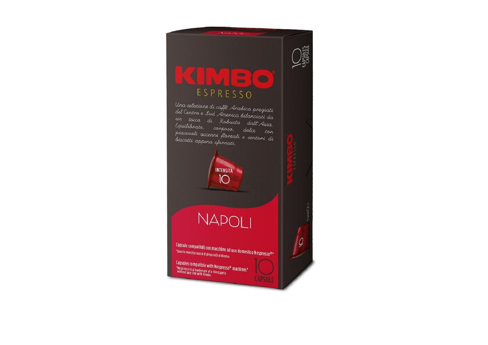 Kimbo Кафе Капсули Napoli NESPRESSO system 10 бр.