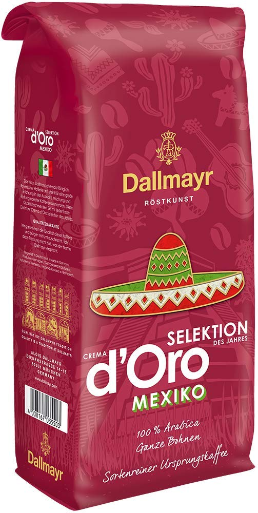 Dallmayr Crema d'Oro Selektion Mexico 1 кг. кафе на зърна