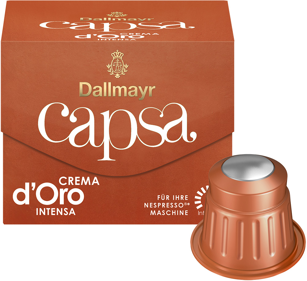 Dallmayr Crema doro Intensa кафе капсули