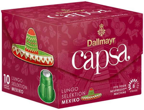 Dallmayr Lungo Selektion Mexico кафе капсули